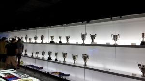 A Sliver of Silver - A few of FC Barcelona's many trophies